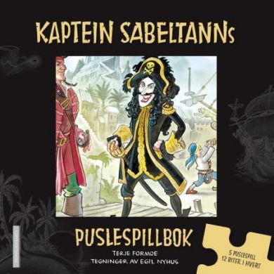 Kaptein Sabeltanns puslespillbok