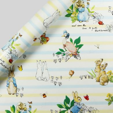 Gavepapir 3M Peter Rabbit Stripe