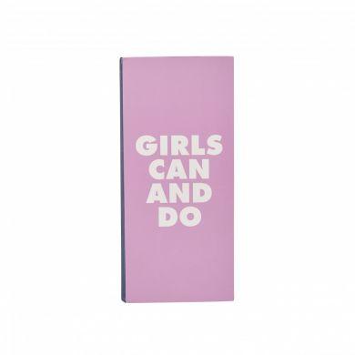 Listeblokk Sh Slogan Girls Can And Will