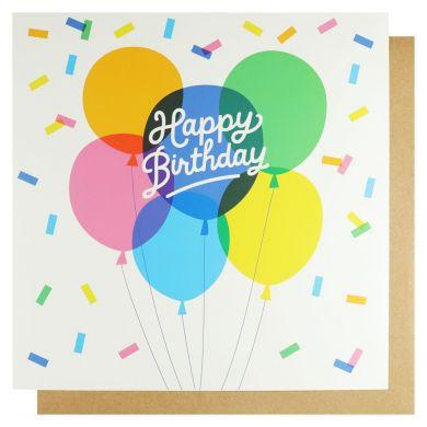 Systemkort PC Happy Birthday Balloons Xl