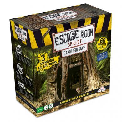 Spill Escape Room Family Edition NO