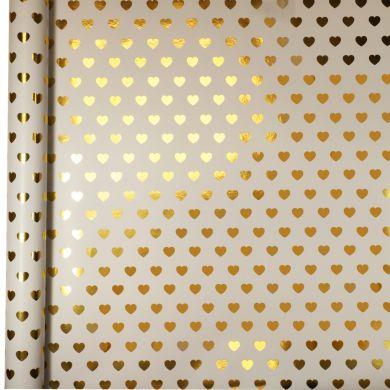 Gavepapir 3M Gold Heart