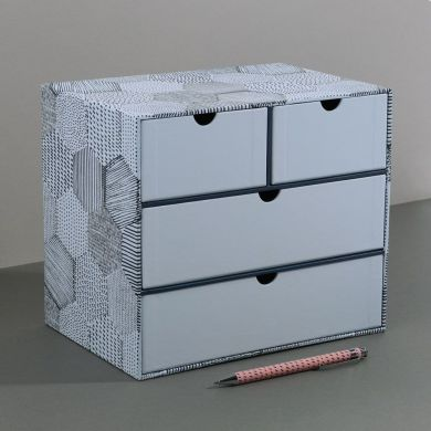 Kommode PD 4 Drawer Unit Geo