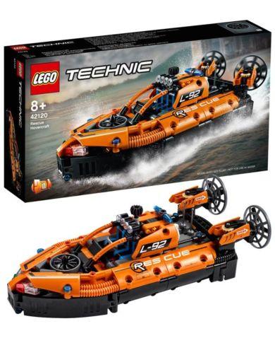 Lego Redningstjenestens luftputebåt 42120