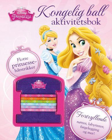 Disney Prinsesser. Kongelig ball aktivitetsbok. Me