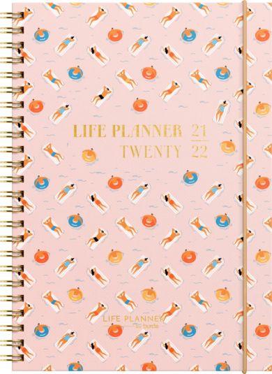 Kalender Student 21/22 Grieg Life Planner A5 Uke