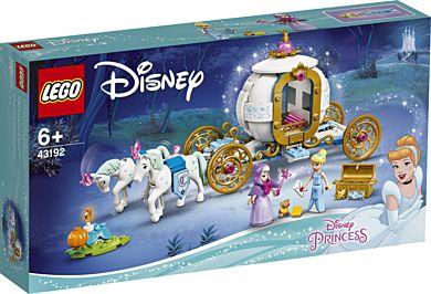 Lego Askepotts kongelige vogn 43192