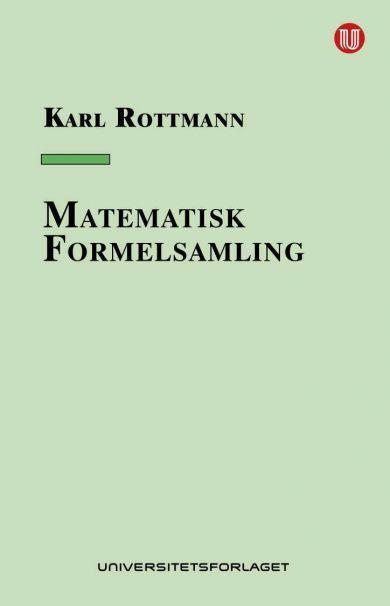 Matematisk formelsamling