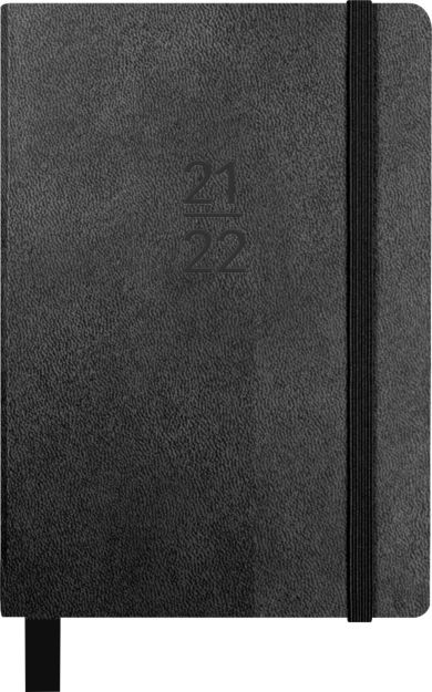 Kalender Student 21/22 Grieg A5 Uke, Sort