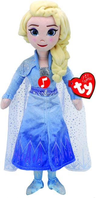 Bamse TY Frozen 2 Elsa M/ Lyd Medium
