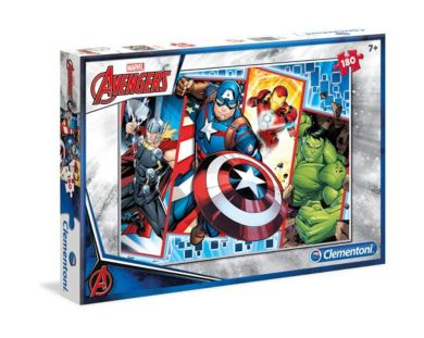 Puslespill 180 Avengers Clementoni