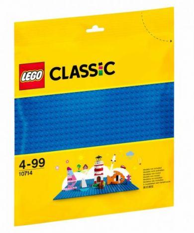 Lego Blå Basisplate 10714
