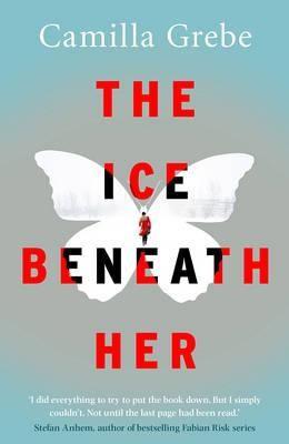 The ice beneath her