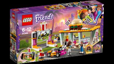 Lego Burgerkafé Med Drive-In-Kino 41349