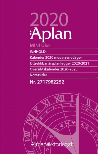 Aplan Mini Uke Årssett 2020