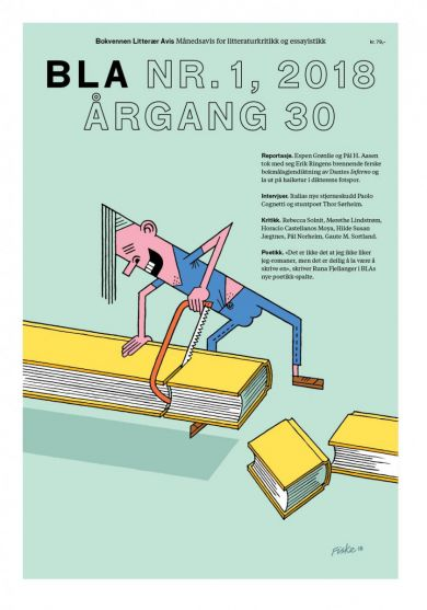 BLA - Bokvennen litterær avis. Nr. 1 2018