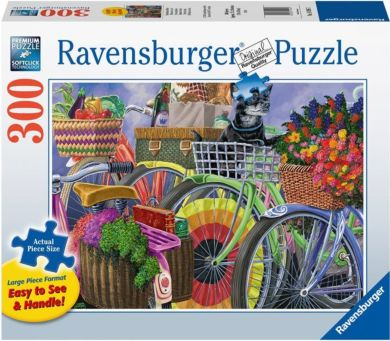 Puslespill 300 Sykler Ravensburger