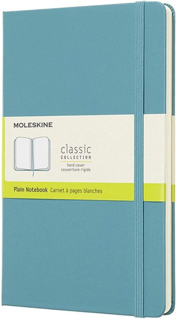 Moleskine Cl Notatb L Plain Hard Rf Bl