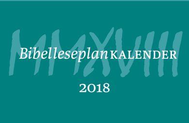Bibelleseplankalender 2018