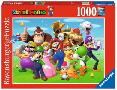 Puslespill 1000 Super Mario Ravensburger