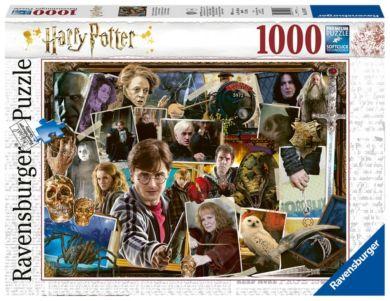 Puslespill 1000 Harry Potter Voldemort Ravensburge