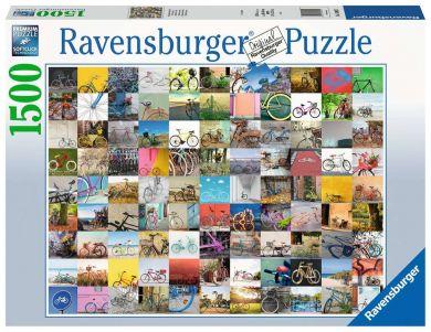 Puslespill 1500 Sykler Ravensburger