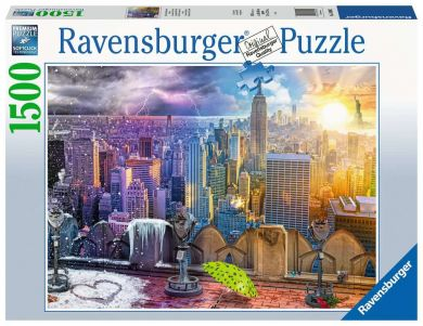 Puslespill 1500 New York Skyline Ravensburger
