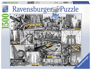 Puslespill 1500 New York Ravensburger