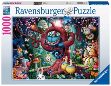 Puslespill 1000 Alice I Eventyrland Ravensburger