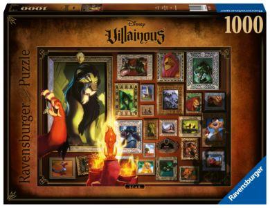 Puslespill 1000 Villainous Scar Ravensburger