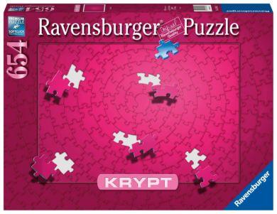 Puslespill 654 Krypt Rosa Ravensburger