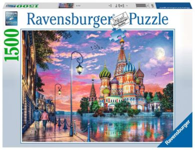 Puslespill 1500 Moskva Ravensburger