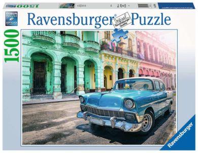 Puslespill 1500 Kubansk Bil Ravensburger