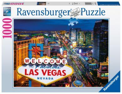 Puslespill 1000 Las Vegas Ravensburger