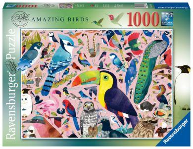 Puslespill 1000 Fantastiske Fugler Ravensburger