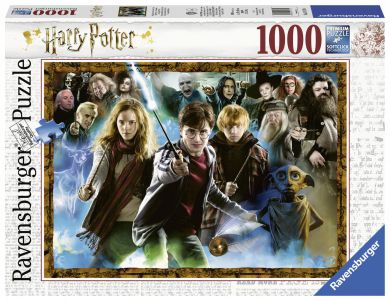 Puslespill 1000 Harry Potter Ravensburger