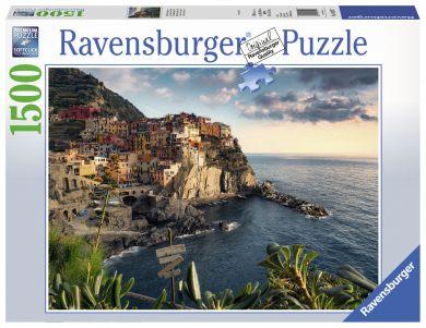 Puslespill 1500 Cinque Terre Ravensburger