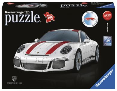 Puslespill 108 3D Porsche Ravensburger