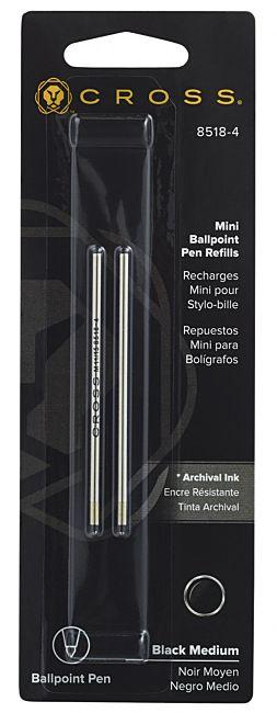 Refill Kulepenn Cross Mini med.sort(2)