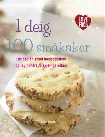 1 deig, 100 småkaker