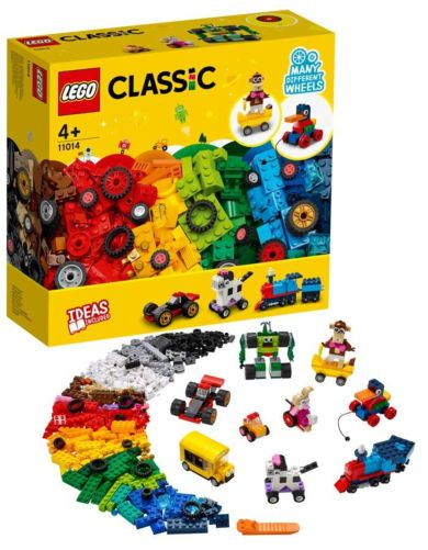 Lego Klosser og hjul 11014