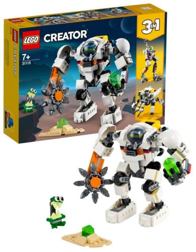 Lego Gruverobot i rommet 31115