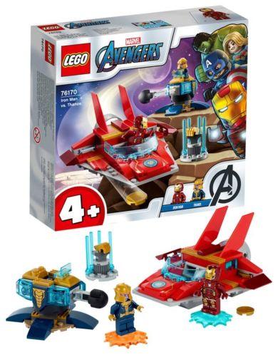 Lego Iron man mot Thanos 76170