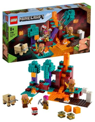 Lego Den vindskjeve skogen 21168