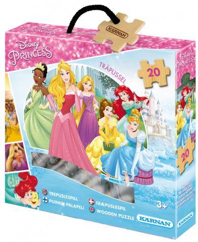 Trepuslespill WD Prinsesser 20 Biter