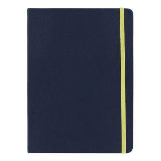 Notatbok Agenzio Navy Yellow L Ruled