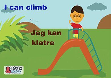 Jeg kan klatre = ¡Yo puedo escalar!