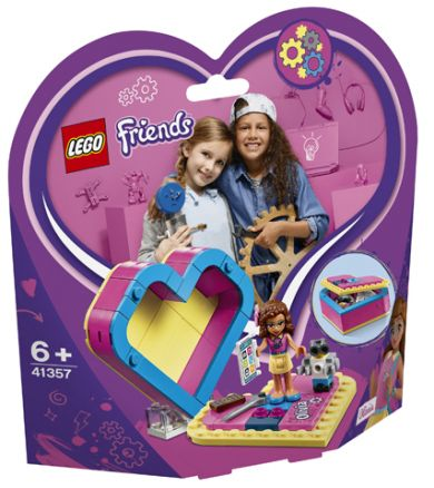 Lego Olivias Hjerteboks 41357