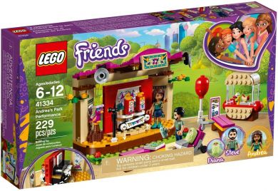 Lego Andreas Parkoppvisning 41334