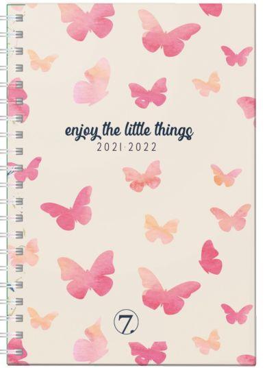 7.sans Kalender 21/22 Ukeplan Butterfly A5